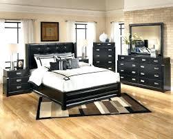 Red And Black Bedroom Furniture Shiny Black Bedroom Furniture Large ...