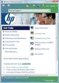 Hp Notebook Pcs Hp Supportability Tools In Hp Help And