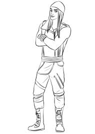 Jay From Descendants Coloring Page Free Printable Coloring Pages