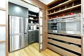 diy sliding kitchen cabinet doors with superior door retractable