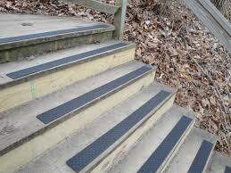 exterior non slip stair treads.