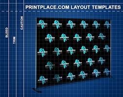 Step And Repeat Banners Templates Free Download Printplace Com