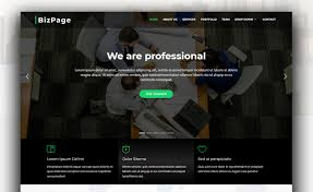 Bizpage Responsive Free And Seamless Bootstrap 4 Business Template
