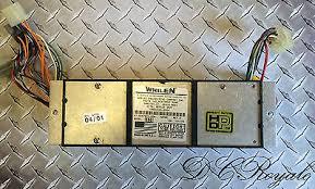 whelen edge 9000 light bar sl6 strobe 6 head power supply tested whelen edge 9000 light bar eb6 strobe 6 head power supply tested
