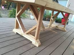 diy yard furniture. Diy Large Outdoor Dining Table Seats 10 12, Diy, Furniture, Living Yard Furniture