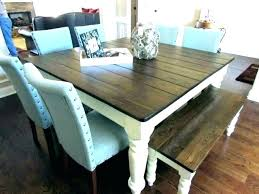 white farm table bench plans farmhouse and with chairs xvi for rustic rustic farmhouse table plans