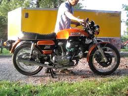 1974 ducati 750 gt start up 003 avi