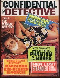 Old detective bondage magazines