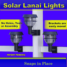 pool cage lighting. Solar Accent Lanai Lights For Pool Cages/ Lanais/ Screened Enclosures Cage Lighting