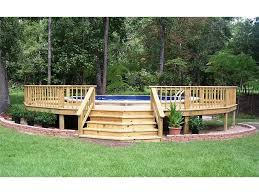 above ground pool decks. Above Ground Pool Photo Gallery Backyard Oasis Livingston, TX 800-657- Decks