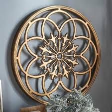 metal and wood wall decor and laurel round medallion wood wall decor wood metal panel wall