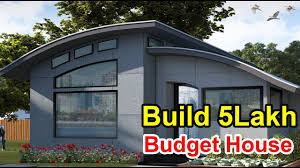 Building A Home On A Budget Build A 5 Lakh Budget House 450sqrt Low Budget House Designs Plans How To Build Low Budget Houses