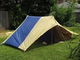 picture of the near perfect tent design and build a recycled tent