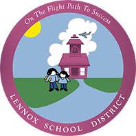 lennox logo. school logo lennox
