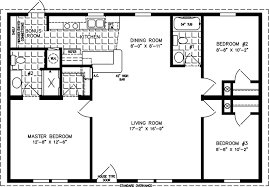 Manufactured Home Floor Plan: The Imperial U2022 Model IMP 4406B 3 Bedrooms, ...