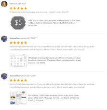 customer info card template customer reviews aiwsolutions