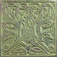 6X6 Decorative Ceramic Tile Decorative handmade ceramic tile Decorative relief carved ceramic 95