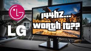 lg 144hz monitor. lg 144hz monitor
