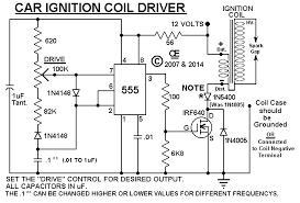 car ignition coil driver circuit board