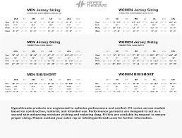 Custom Ink Size Chart Size Charts Hyperthreads