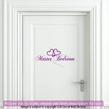 master bedroom door sign home quote wall sticker removable vinyl decal sign room decor hk23 on vinyl wall art for master bedroom with amazon master bedroom door sign home quote wall sticker