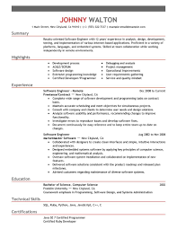 Best Remote Software Engineer Resume Example Livecareer