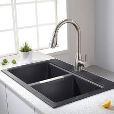 Lyons Industries DKS22V35 Black 3225Mobile Home Kitchen Sink Plumbing
