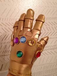 infinity gauntlet glove. infinity gauntlet! gauntlet glove
