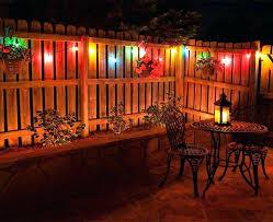 outdoor patio lighting ideas diy. Unique Outdoor Patio Lighting Ideas Or Lights Hang Across A Backyard Deck . Diy