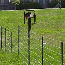 metal fence post. Green Metal Fence Posts Awesome New Post Driver \u2014 Peiranos Fences  Metal Fence Post