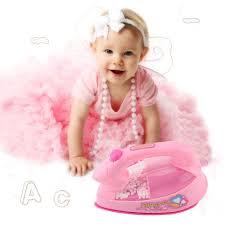 Bàn ủi nhựa đồ chơi màu hồng cho bé