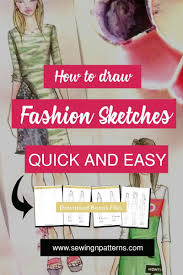 Books About Fashion Design Beginners How To Color Fashion Design Sketches Quick And Easy