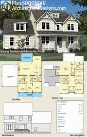 modern farmhouse floor plans. Modern Farmhouse Floor Plans Awesome Architectural Designs 4 Bed Country Plan Vv Has A