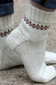 Knitted Sock Patterns Awesome Pansy Path Knit Sock Pattern AllFreeKnitting