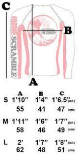 Scramble Bjj Size Chart Scramble Bjj Ranked Rashguards All Colors
