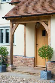Border Oak lean to porch - could be contemporary. Front Door ...