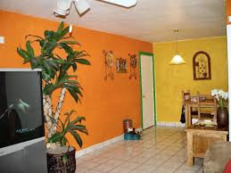 Delightful Orange Yellow Green Paint Bad MLS Photos Ugly Home House Phoenix Real Estate