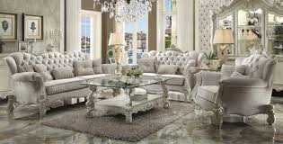 high back sofas living room furniture. ac52105 - versailles ivory velvet high back sofa and love seat set sofas living room furniture a