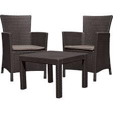 Набор садовой <b>мебели Rosario</b> полиротанг коричневый: стол и 2 ...