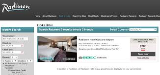 as a side note radisson hotel oakland airport has a lower 186 using the aaa rate for july 9 date