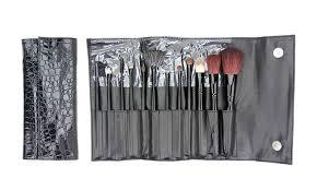 12 piece beaute basics makeup brush set
