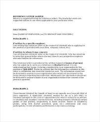 Recommendation Letter For Business Under Fontanacountryinn Com
