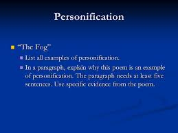 personification how do i determine the appropriate meaning of 8 personification ldquo