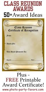 Class Reunion Invitation Template Free Printable Class Reunion Award Certificate With More Than 24 24