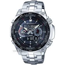 men s casio edifice waveceptor alarm chronograph radio controlled mens casio edifice waveceptor alarm chronograph radio controlled solar powered watch ecw m300edb 1aer