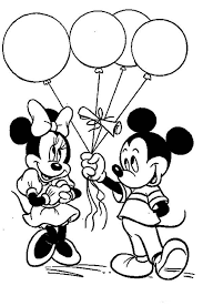 Pretty Minnie Mouse Coloring Pages Printable For Kids Iphone