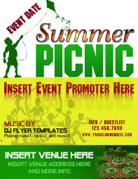 12 Best Photos Of Picnic Flyer Template Word Summer Picnic