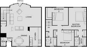 4Bedroom Townhome A  Hannah Lofts And TownhomesTownhomes Floor Plans