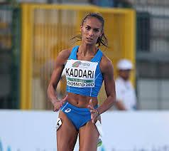 Dalia Kaddari sfreccia al Record italiano U20 nei 200 metri nell'incontro  indoor Italia-Francia di Ancona- live streaming