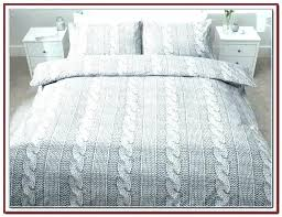 jersey knit comforter queen cable knitted bedspread cotton throw pure beech ruffle full set in